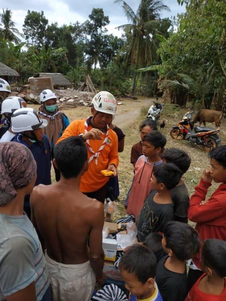 Pramuka di Lombok 1